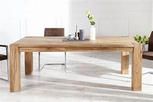 Table A Manger Bois : table manger en bois roky chloe design ~ Preciouscoupons.com Idées de Décoration