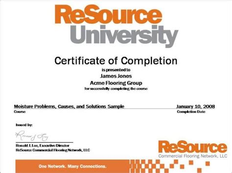 certificate courses course certificate sles weboffices