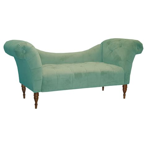 Velvet Chaise Lounge by Chaise Lounge Velvet Indoor Chaise