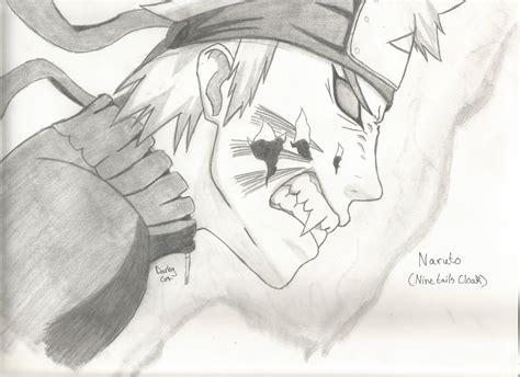 Naruto (nine Tails Cloak) By Masashiraiden On Deviantart
