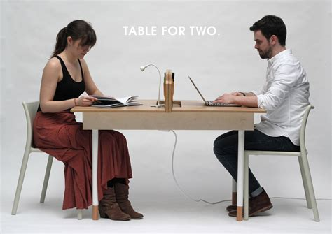 small 6 person dining a working desk for two a dining table for six design milk