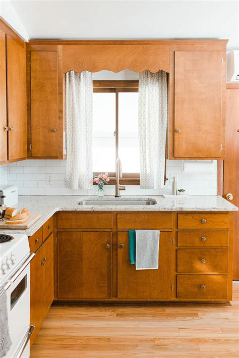 Century Kitchen Cabinets by Our Budget Friendly Mid Century Kitchen Makeover