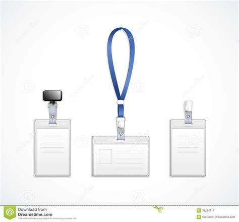 lanyard template vector templates for name tag with lanyard royalty free stock photography image 38214117