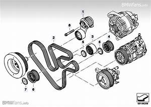 Belt Drive Ac  Power Steering Bmw X6 E71  X6