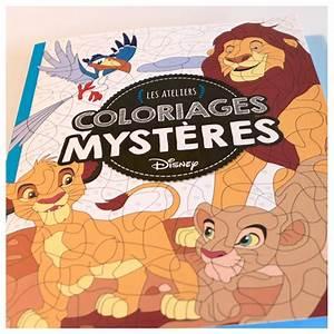 « Les Ateliers Coloriages Mystères » Disney Hachette Eugénie Varone