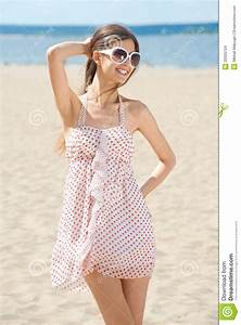 Young Woman In Summer Dress Stock Images - Image: 20000734