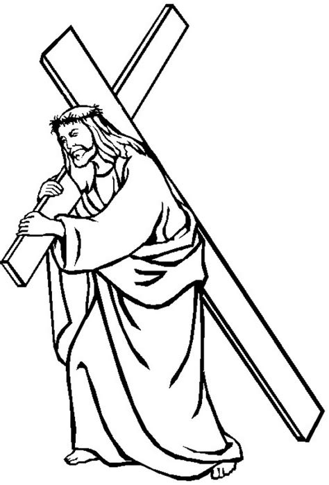 good friday coloring pages  pintables  kids family
