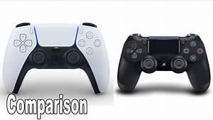 Dualsense Vs Dualshock 4 Comparison