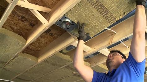 insulation around recessed lighting insulating soundproofing around pot lights or recessed