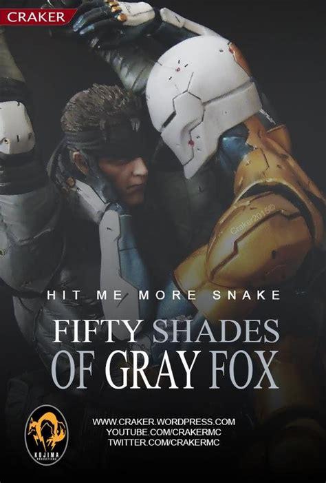 fifty shades  gray fox