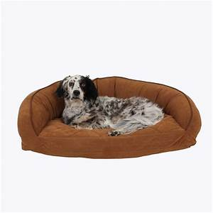 microfiber bolster dog bed best of dog With bolster dog beds for large dogs
