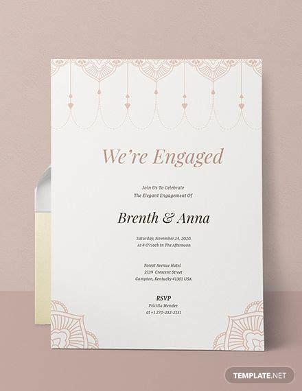 elegant invitation  images engagement invitation