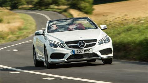 The best they could do was $15,000 down, and $2235 per month! Mercedes-Benz E Class Convertible (2013 - ) review | Auto ...