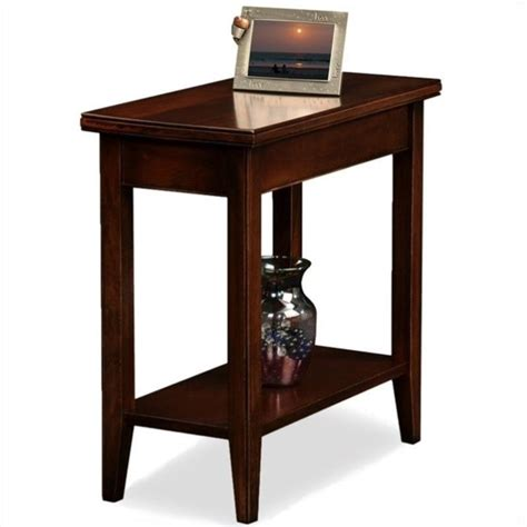 narrow bar stools uk leick furniture laurent solid wood rectangular end table