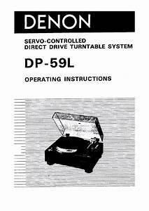 Denon Dp-59l
