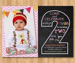 Birthday Invites 2nd Birthday Invitations Printable