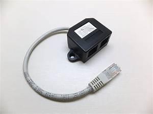 Lan Kabel Stecker : dsl lan netzwerk internet adapter verteiler splitter 1x rj45 stecker 2x ~ Orissabook.com Haus und Dekorationen