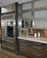 metal cabinets kitchen Stainless steel kitchen cabinets, cabinet doors and countertops