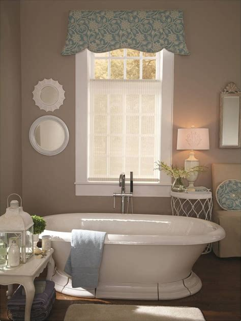 ideas for bathroom window treatments bathroom ideas free standing tub with a lafayette roller