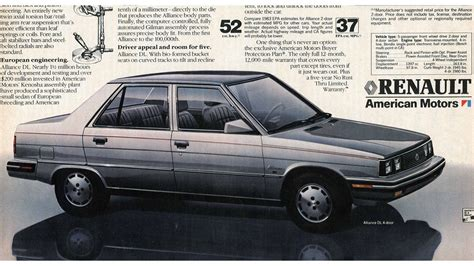 renault alliance 1983 the wisconsin built renault alliance is the future