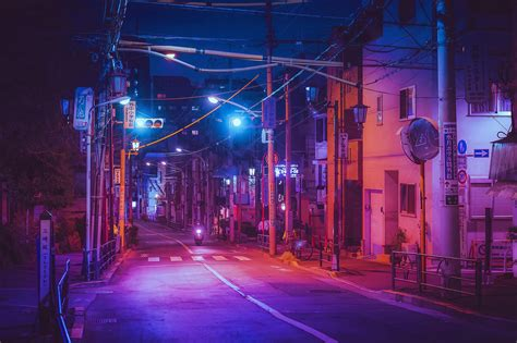 street  japan hd wallpaper