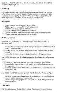 1 purchasing agent resume templates try them now With sample resume for purchaser