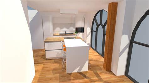 cuisine 9m2 avec ilot plan cuisine en l avec ilot cuisine 9m2 avec ilot cuisine avec lot central oui voil 28