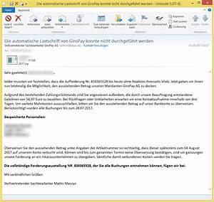Rechnung Amazon Ag : die automatische lastschrift von giropay konnte nicht durchgef hrt werden von stellvertretender ~ Themetempest.com Abrechnung