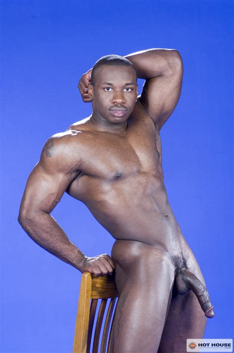 Black Muscle Man Marc Williams Naked