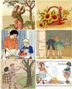 Beautiful Fun Vintage Fall Clip Art to Use for Your DIY ...