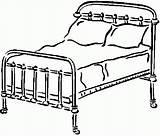 Coloring Bedroom Betten Letti Disegni Bed Nabytek Colorare Malvorlagen Template Sheet Kleurplaat Diverse Immagine Bedrooms Drawing Omalovanky Library Ausmalen sketch template