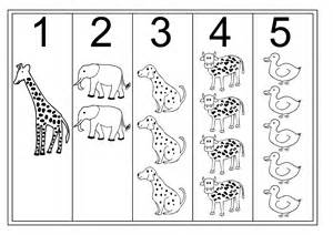 Printable Number Worksheets Tracing Numbers 1 5 For Activity Shelter