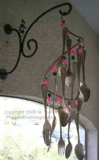 Fork and Spoon Wind Chimes Homemade