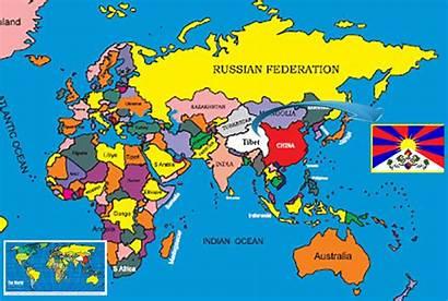 Tibet Legal Map Christian System Era Dates