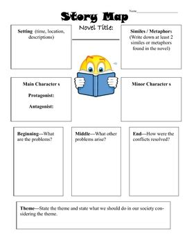 story elements and worksheets on