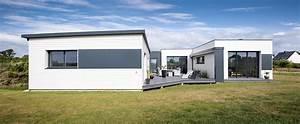maisons nature bois de style contemporain la maison With maison en forme de u 0 photos damenagements interieurs de maisons