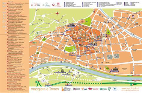 Ufficio Turismo Trento mappa turistica di trento mediaomnia