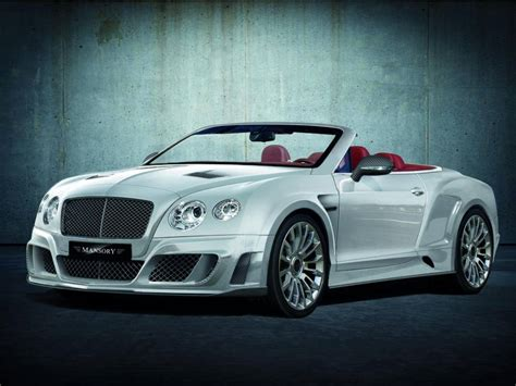 mansory bentley continental gt and gtc kit car tuning