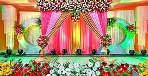 Valaikappu Stage Decoration at Jayaram Hotel, Pondicherry