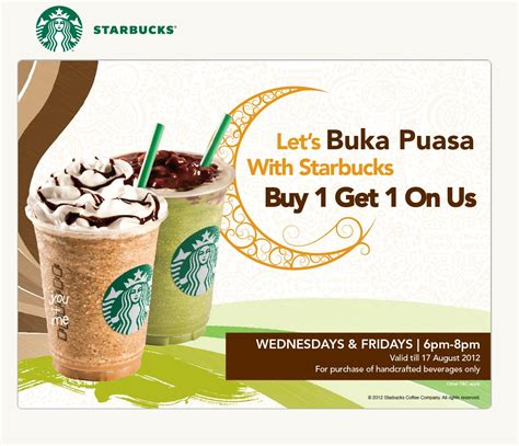 12024 Malaysia Coupon Website by Starbucks Buy 1 Free 1 Raya Promo Local Standpoint