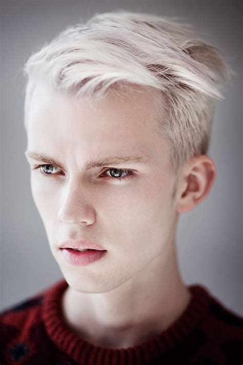 White Hair Men A Collection Of Mens Fashion Ideas To Try