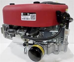 Briggs  U0026 Stratton Vertical 17 5 Hp 500cc Intek Engine Dc Alt 1 U0026quot  X 3 32 U0026quot   31r977