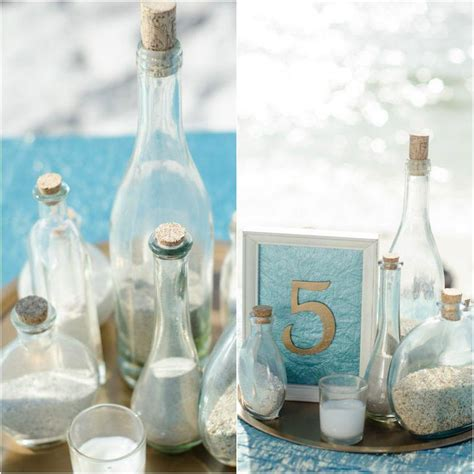 top  beach theme wedding centerpieces ideas table