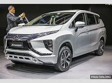 GIIAS 2017 Mitsubishi Xpander production SUVstyled MPV