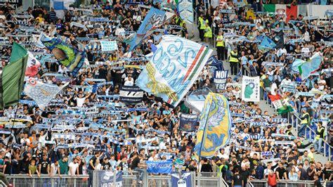 lazio fans leave anti semitic stickers  roma ultras