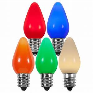 Led Light Bulbs : c7 multicolor smooth led christmas light bulbs ~ Yasmunasinghe.com Haus und Dekorationen