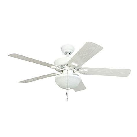 52 inch outdoor ceiling fan buy 52 inch halifax white outdoor ceiling fan with light