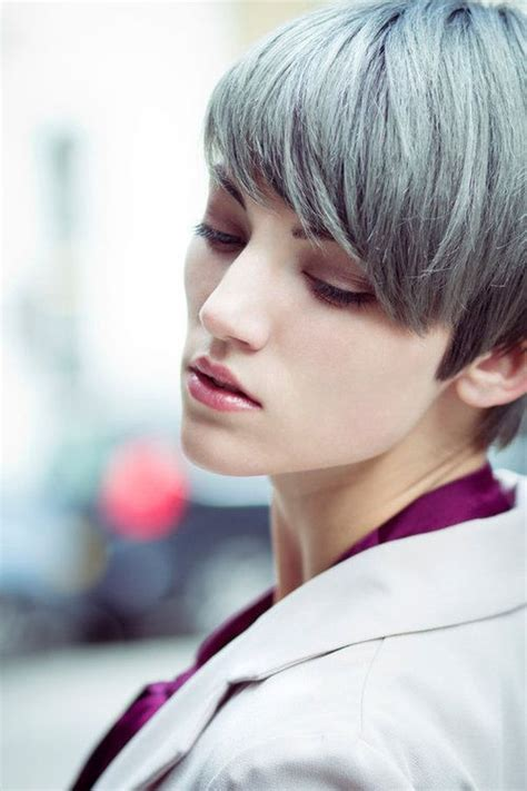 2015 Spring And Summer Hair Color Trends Silver Hair