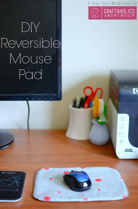 craftaholics anonymous diy mouse pad