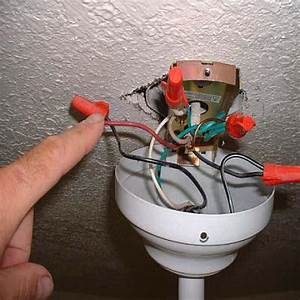 Connecting A Ceiling Fan